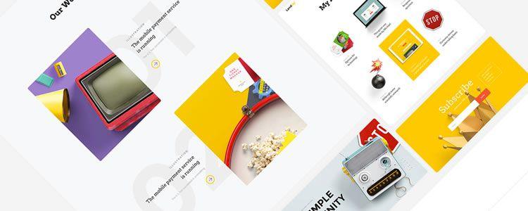 Landing Page Free UI Kit
