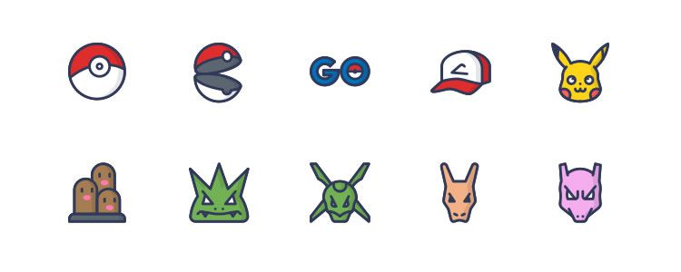 Free Pokemon GO Icons