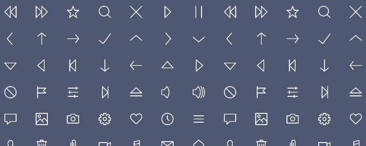 Tiny Style-Controlled Iconset