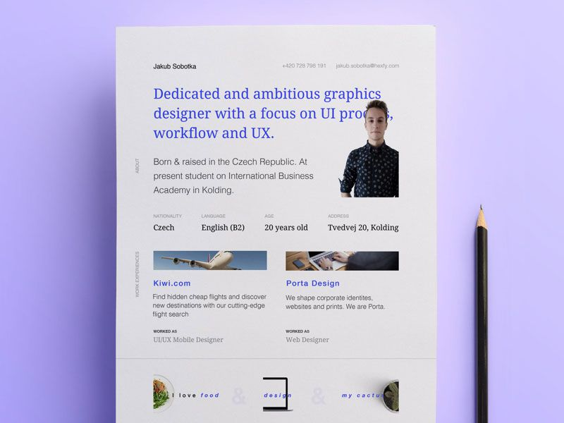 The Essential Elements of Creative Resume Design