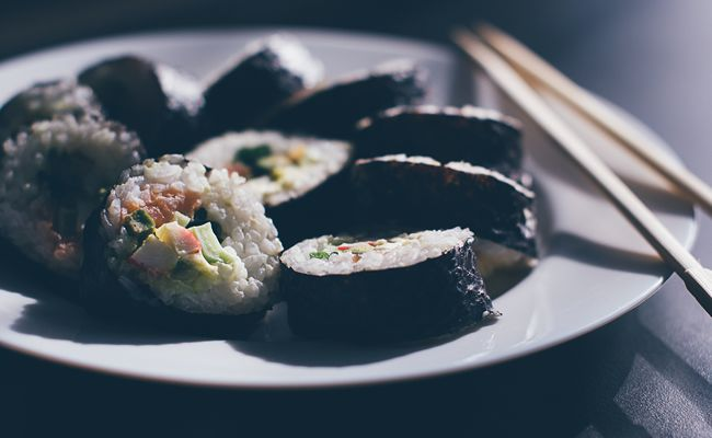 sushi design presentation