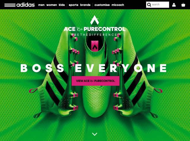 example adidas brand ad website ace 16