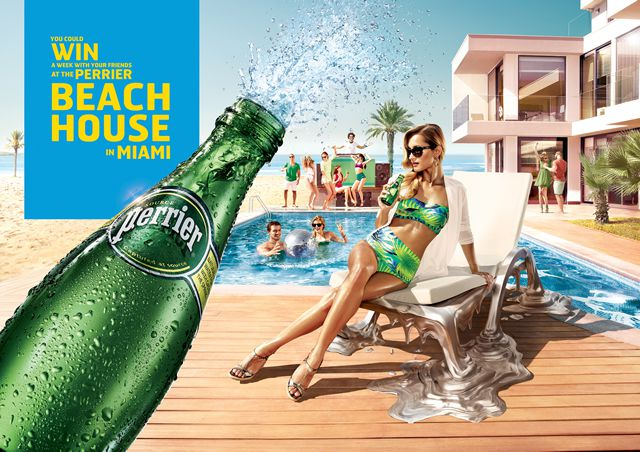 perrier ad large branding emotion