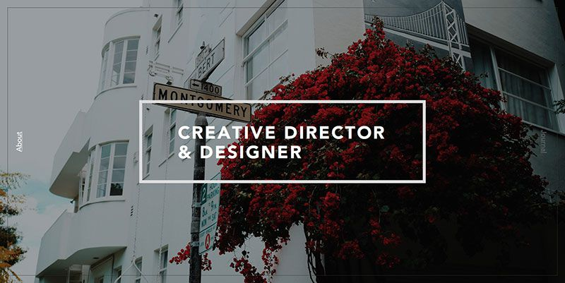 Sang Han ultra minimal web design