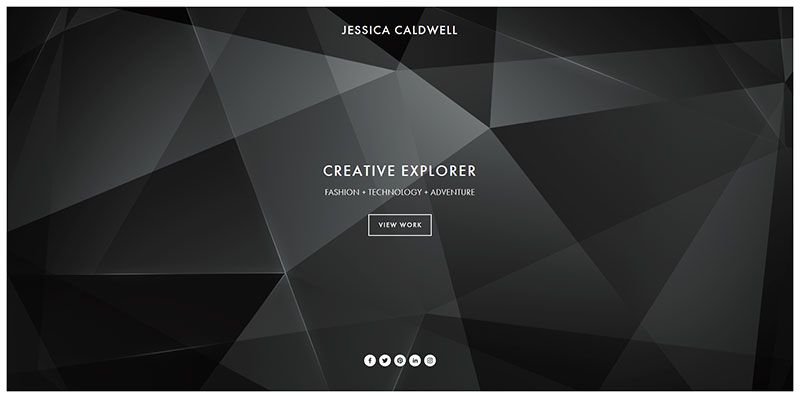 15 beautiful examples of ultra minimal in web design for Minimalist web design