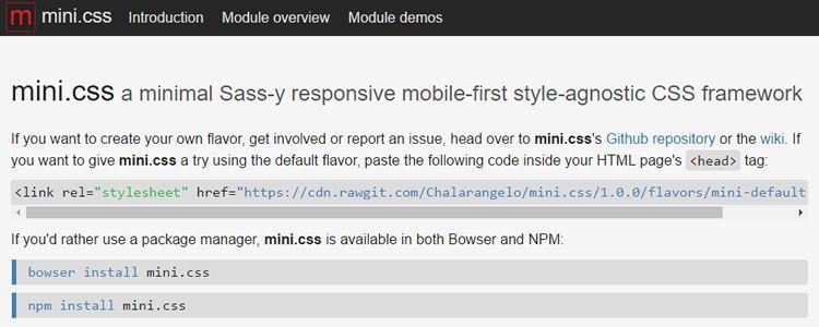 minimal Sass responsive mobile-first