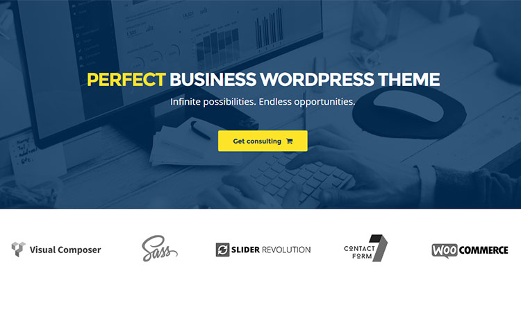 Consulting WP is the perfect business WordPress theme.
