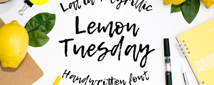 15 Free Beautifully Imperfect Brush Fonts for Designers