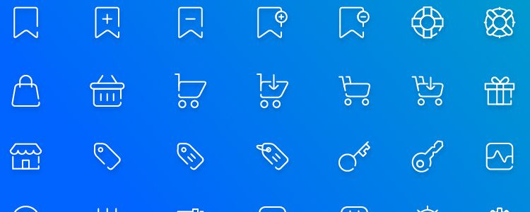 Free Ecommerce Icon Pack