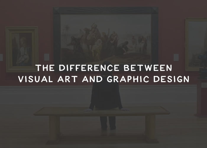The Difference Between Visual Art and Graphic Design