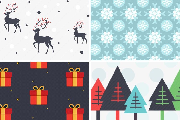6 Free Christmas Patterns free holidays