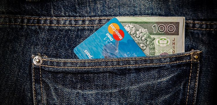payment method jeans card cash shop ecommerce