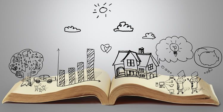 storytelling designer book popup