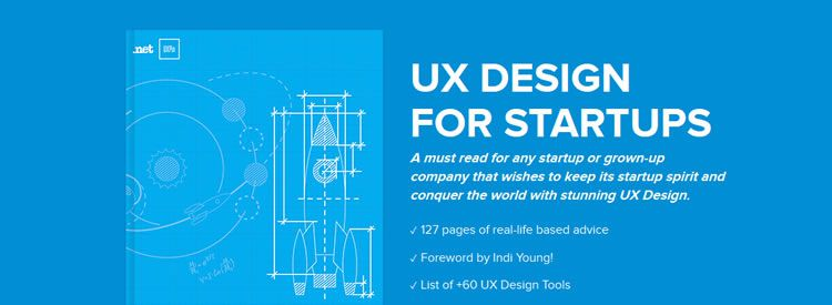 UX Design for Start-Ups by Marcin Treder Free Books for Designers and Developers