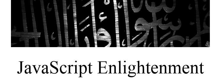 JavaScript Enlightenment by Cody Lindley Free Books for Designers and Developers