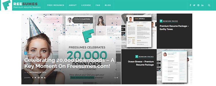Create the Perfect Resume with Freesumes