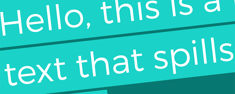 Multi-line Padded Text with the CSS box-decoration-break Property