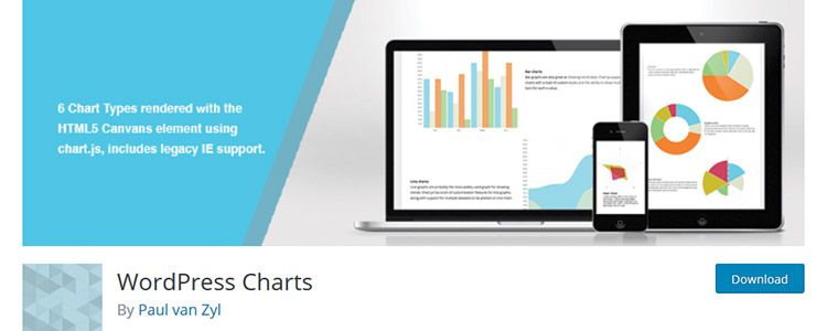 WordPress Charts