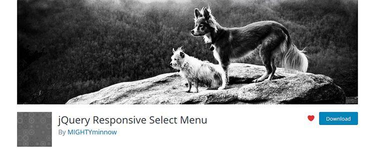 jQuery Responsive Select Menu