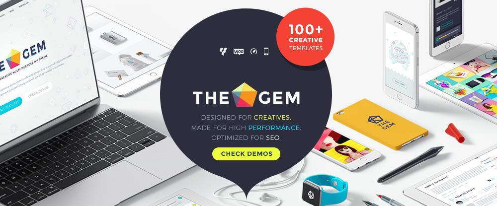 TheGem - Yaratıcı Çok Amaçlı Yüksek Performanslı WordPress Teması