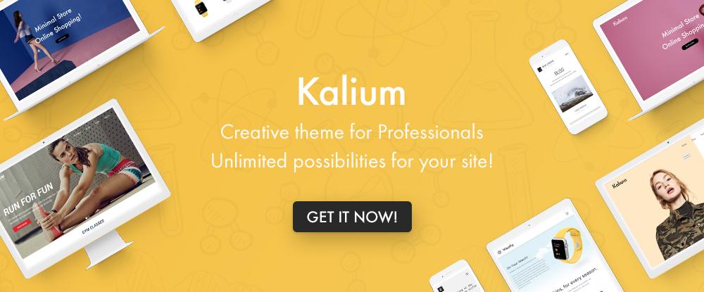 Kalium WordPress Teması