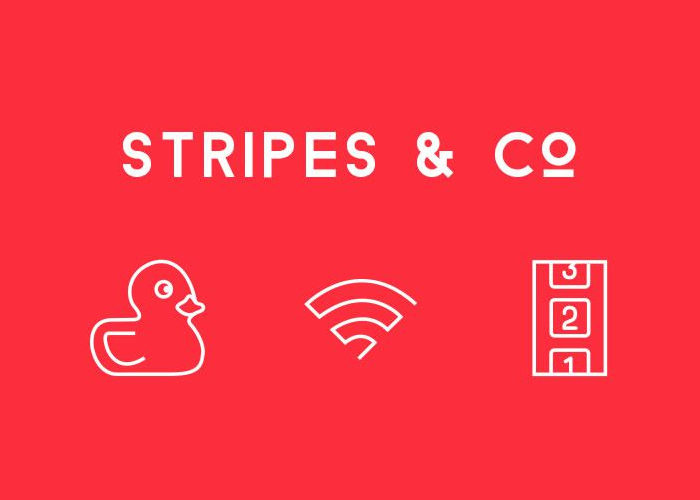 Freebie: Stripes & Co Line-Styled Icon Set (65 Icons, AI & EPS)