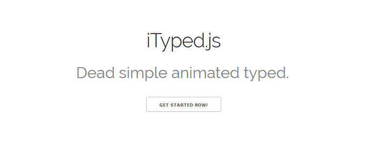 iTyped.js