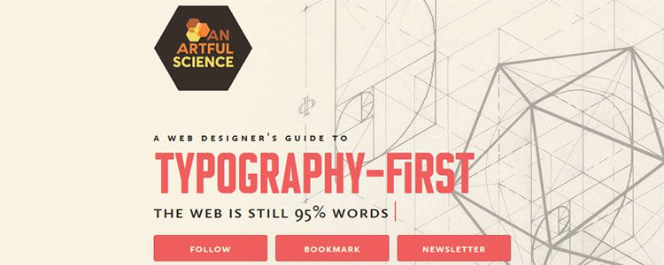 A Web Designer's Guide to Typography-First