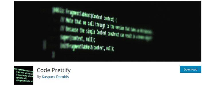 Code Prettify