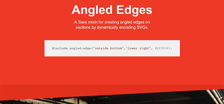 Angled Edges