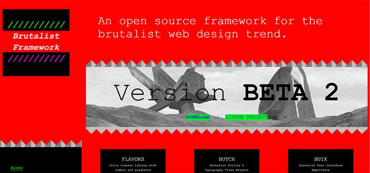 Brutalist Framework