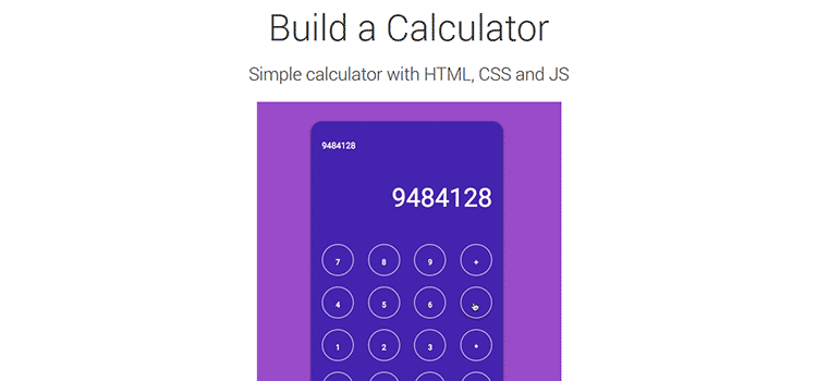 Build a Calculator