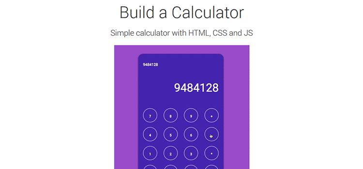 Build a Calculator