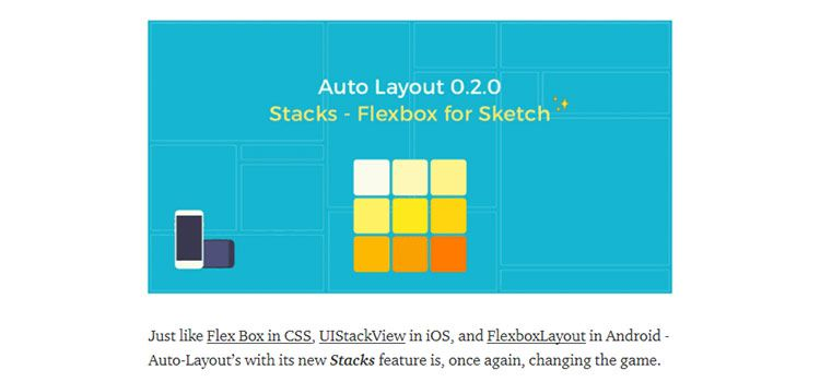 Auto-Layout: Introducing Stacks — Flexbox for Sketch