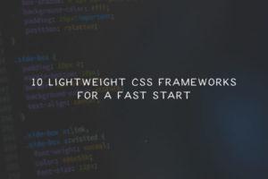 lightweight-css-frameworks