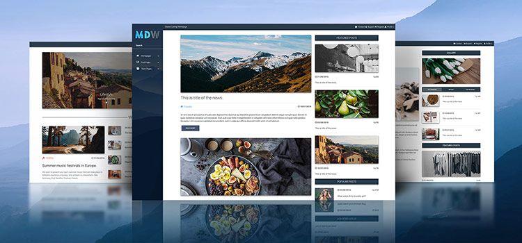 Material Design for WordPress