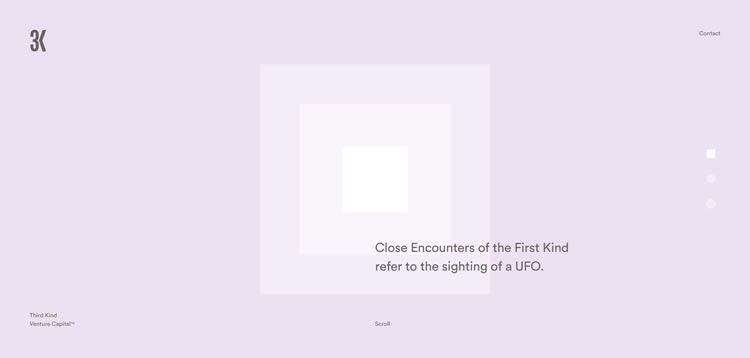 simplicity web design 3kvc homepage