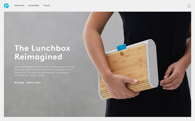 simplicity web design prepd pack homepage