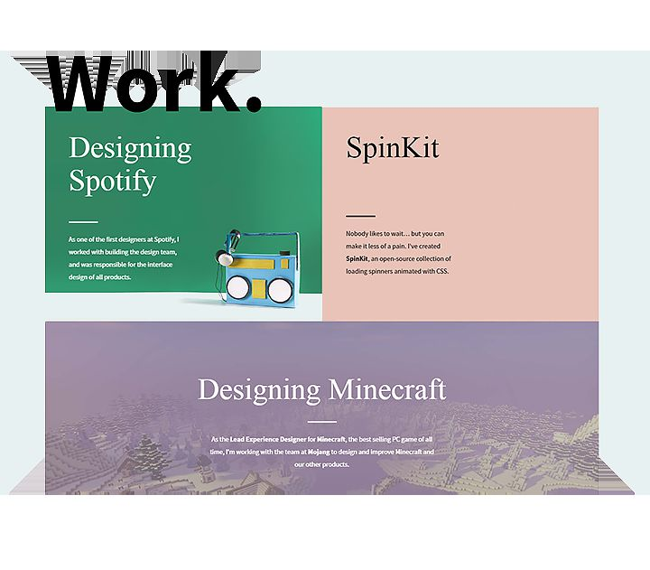 the ux portfolio of Tobias Ahlin