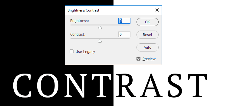 Ensuring a proper Contrast Ratio will help make text easier to read.