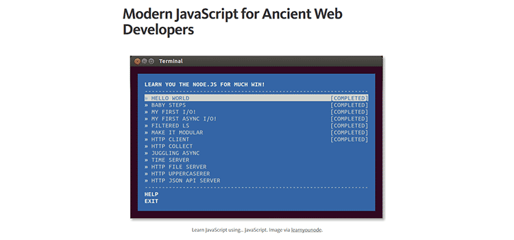 Modern JavaScript for Ancient Web Developers