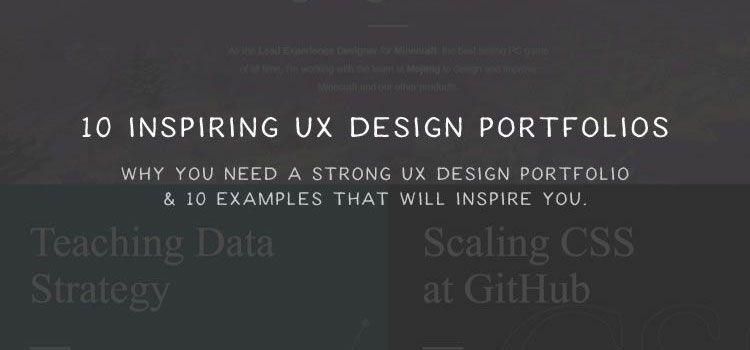 10 Inspiring UX Design Portfolios