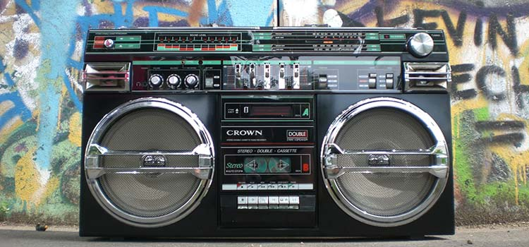 Maybe the boombox will come back next?