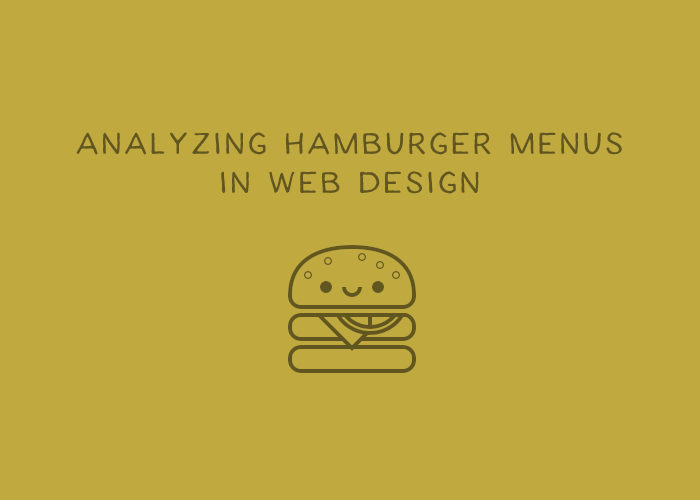 Analyzing the Hamburger Menu in Web Design