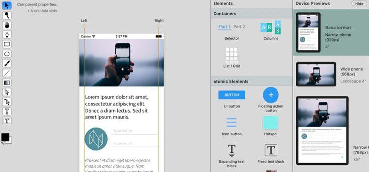 Designing responsive web layouts in React Studio