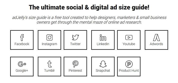 The ultimate social & digital ad size guide!