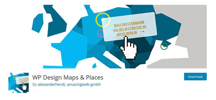 WP Design Maps & Places