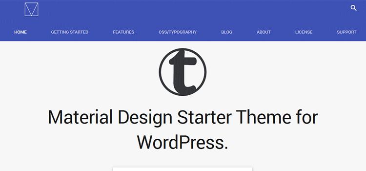 10 Free Material Design WordPress Themes