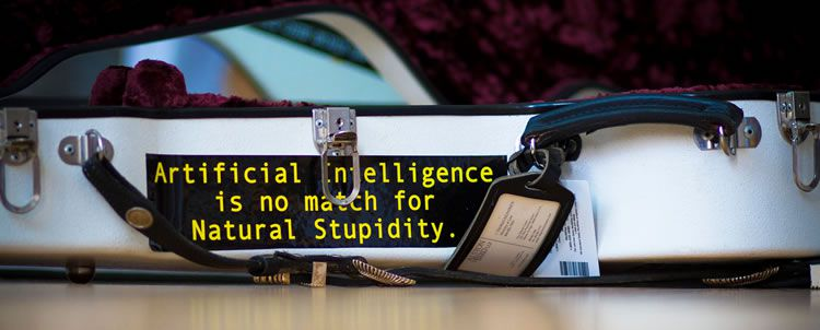artificial intelligence stupidty