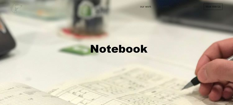 The Notebook Blog on Hounder.co